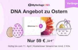 DNA Oster-Angebot – Verlängert!